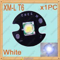 CREE Single-die XM-L XML T6 10W White LED Light Emitter Bulb Mounted on 16mm UFO PCB For Flashlight Head Lamp