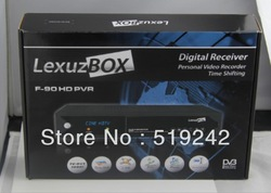HD lexuzbox F90 cable receiver LexuzBox F90 HD receptor for Brazil free shipping post azbox F90hd free shipping(China (Mainland))