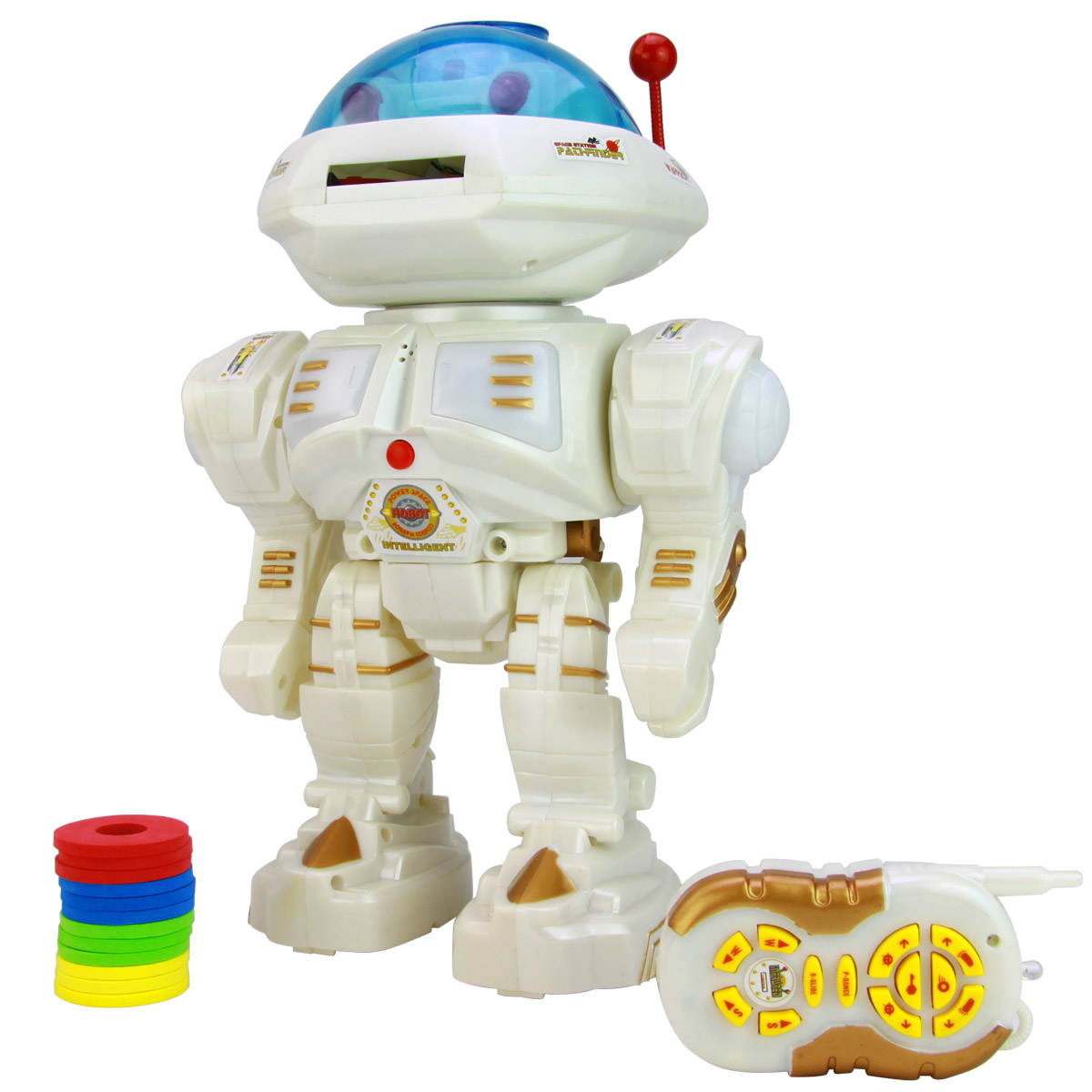 Remote control intelligent robot story telling voice space robot toy(China (Mainland))