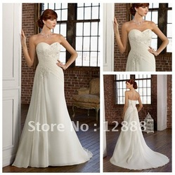 Free Shipping Bridal Dresses Gowns Chiffon Professional Supplier 2011(China (Mainland))
