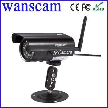 Free Shipping Free shipping wanscam Hidden Outdoor Wireless WiFi Night Vision IP Network Security CCTV IR Camera 6mm Lens