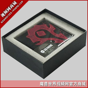 Valentine day boxed genuine leather wallet the sign wallet