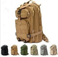 30L 3P Fishing Hunting Tactical Backpack Camping Backpack Miltary Black/CP/TAN/ACU/Green/jungle digital/jungle camouflage