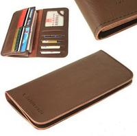 Free shipping 1pcs Cowhide wallet,men cow leather wallet purse card bag whosale 2 colors #MCB09