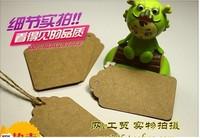 Wholesale DIY Blank price Hang tag Kraft Standard Gift tag 40x70mm 100pcs/lot Free shipping