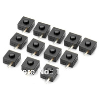 Replacement Clicky Switch for Flashlights & Electronics DIY (10-Piece Pack)
