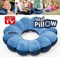 Free Shipping as seen on tv 1pc Total Pillow Amazing Versatile Neck Massage Plum Flower Pillow 07041