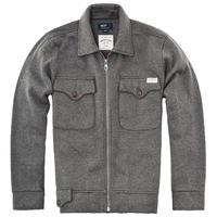 Nop men's clothing spring male outerwear vintage turn-down collar zipper jacket sand brown
