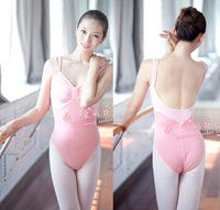 Soft high quality fabric velvet adult ballet dance clothes leotard coverall