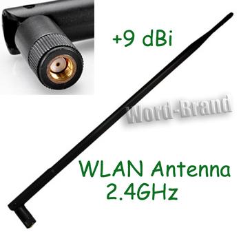 2.4GHz 9dBi RP TNC Omni Wireless Wifi Router Female Folding Antenna RP-SMA WLAN