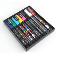 New Arrival Uni Posca PC-3M 8 Colors Markers Set 0.9-1.3mm,8pcs/set
