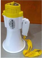 Handheld megaphone loudspeakers charge