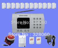 99 zones  Wireless Home Security Burglar Alarm System with Auto-dial+12*Door Sensor