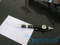Free shipping 5pcs/lot Fashion creative Ball-pen Shape  Magic Metal Pipe Portable Smoking Pipe mixed colors Gift Promotion