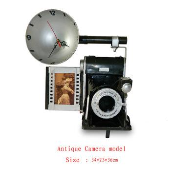 Antique craft antique camera model handmade craft home decoration bar coffee house display birthday gift
