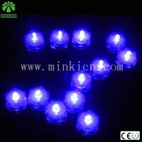 MINKI DC3V  battery operated flower shape waterproof  led candle