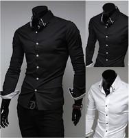 Men's business shirts,Long-sleeved Slim Men's wear,Casual shirts for gentleman,Free shipping MC5006