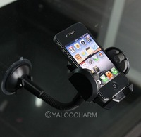 1 pc Windshield Car Mount Phone Holder with Photo Frame For MP4/MP3/PDA/Mobile 80409 Free Shipping