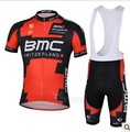 Free Shipping!! 2013  new   BMC     team cycling jersey + bib shorts