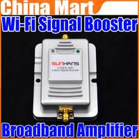 2W Wifi Wireless Broadband Amplifier 2.4Ghz Power Range Signal Booster Router Free Shipping + Drop Shipping