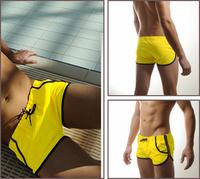 NEW Men's Swimming Front Tie with Pocket Super Sexy Swim Trunks Shorts Slim Wear SL00131