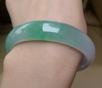 Burma jade bracelet green jade fine bracelet ice pale green jade bracelet