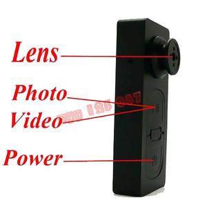 Mini Button hidden DV  Camera Video 1/ 4 COMS PC Cam Voice Recorder  gadget 640 480 Fr Card