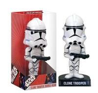 star wars clone trooper bobble head figure new in box