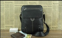 Free shipping!High Quality-Genuine Leather Man bag-Shoulder Messenger-New Arrival Business Casual !