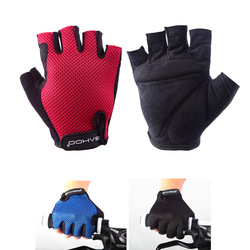 Roswheel Fashion Man Woman Youth Cycling Bike Bicycle Half Finger Gloves Size L and XL Freeshipping Dropshipping Wholesale(China (Mainland))