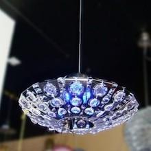 2013 Stainless steel crystal chandelier light lighting lamps dia 37cm