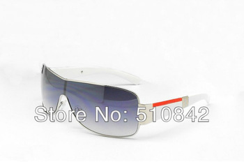2013 New Fashion designer men sunglasses sun glasses men brand sunglasses silvery and whte frame lens come with boxs P-2207