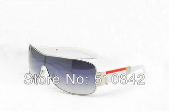 2013 New Fashion designer men sunglasses sun glasses men brand sunglasses silvery and whte frame lens come with boxs P-2207