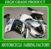 Custom high grade racing motorcycle fairing kit for KAWASAKI ZX6R 2007 2008 ABS body panels ZX-6R 07-08 motobike sets