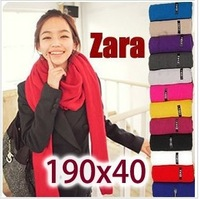 2013 Top Cotton woman scarf with long size different colors for choose