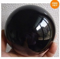 Collectibles Obsidian Crystal Sphere Healing 60 MM  free shoping