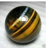 Beautiful Tiger's Eye/tigereye Crystal 45MM  free shoping