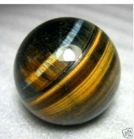 Beautiful Tiger's Eye/tigereye Crystal 45MM  free shoping