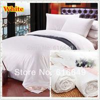 Spring&autumn&Winter handmade 100% pure mulberry silk quilt/duvet/comforter, Single/Double/Queen/King,2.5kg silk quilt.