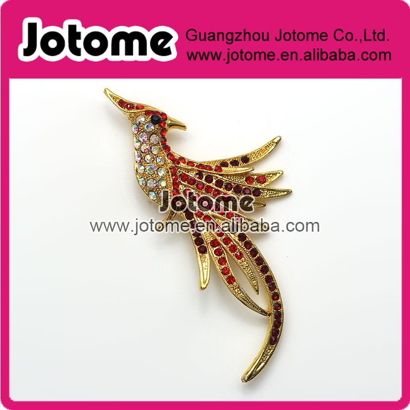 Promotional fashion woman rhinestone brooch(China (Mainland))