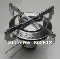 Camping stainless steel stove burner outdoor burner folding portable disc burner free shipping
