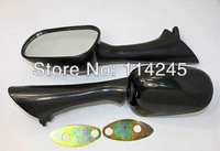 rearview mirrors For Honda CBR600 F2 91-94 CBR1000F 93-96 VFR750F 94-97 VFR800FI 98-99 Black motorcycle part