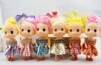 Free shipping little girls dolls, 10pcs/lot, 2014 new styles, hot seller, girls plastic toys child gift ((T-122))