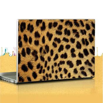 Leopard print laptop case film colorful stickers multicolour protective film
