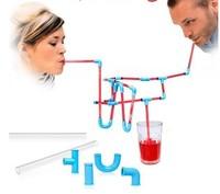 HOT sell DIY Crazy Straw DIY STRAWS Funny Gift