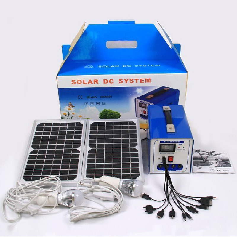 Portable solar generator small solar power system DC field emergency photovoltaic power generation(China (Mainland))
