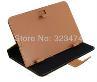 7 inch Leather Case for Tablet PC Allwinner A13 Q88 Protective Leather Case Cover  --free shipping  BS10