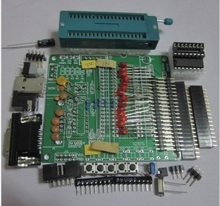 Diy learning board kit set spare parts 51 avr mcu development board learning board stc89c52