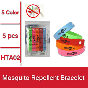 50packs = 250pcs Hot Summer Mosquito Repellent Bracelet,Mosquito Bangle,Mosquito Repellent Wrist -- HTA02 Wholesale & Retail