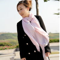 Free shiping  pormotion Wire jade powder long scarf women's silk scarf winter scarf scarf women  free